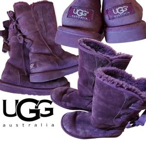Ugg Everleigh Purple Boots